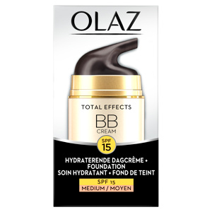 Afbeelding van 4x Olaz Total Effects BB Cream Medium SPF 15 50 ml