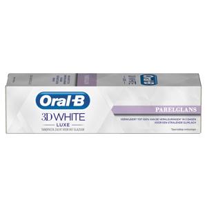 Afbeelding van 12x Oral B Tandpasta 3DWhite Luxe Parelglans 75 ml