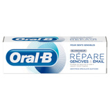 Afbeelding van12x Oral B Tandvlees & Glazuur Repair Zachte Whitening Tandpasta 75 ml
