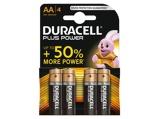 Afbeelding vanDuracell batterij alkaline plus power AA A4