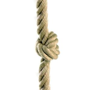 Image de Corde à noeuds, corde d'escalade 18 mm