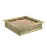 Image ofFatmoose PowerPit Sandbox Buy wooden Sandbox