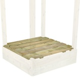 Image ofFatmoose Sandpit with cover, Wood cover
