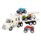 ZdjęcieCiężarówka + quady 42x8x17,5 cm