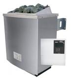 Afbeelding vanKaribu Saunakachel 9 kW Besturingssysteem Classic Met 18 kg saunastenen