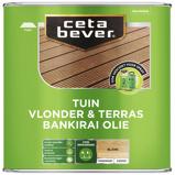 Afbeelding vanCetabever Vlonder & terrasolie Bankirai Kleurloos 4 Liter