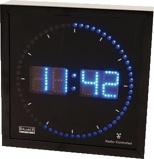 Afbeelding vanAlpexe Balance He clock 27 Aluminium Led Wandklok