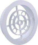 Afbeelding vanNedco Kunststof Ventilatierooster 120mm Wit