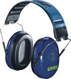 Afbeelding vanUvex 2 2500 001 Gehoorkap Met Hoofdband Blauw Passieve Gehoorkappen