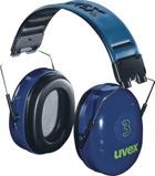 Afbeelding vanUvex 3 2500 002 Gehoorkap Met Hoofdband Blauw Passieve Gehoorkappen