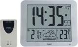 Afbeelding vanFysic FKW 2500 jumbo klok met weerstation