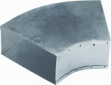 Afbeelding vanAir Spiralo Bocht Instortkanaal 170x80 Rkb 45 Instortbocht