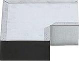 Afbeelding vanAir Spiralo Bocht Instortkanaal 170x80 Rkbh 90 Instortbocht Haaks