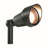 Afbeelding vanGarden Lights LED spotlicht Focus zwart aluminium 3151011
