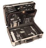 Afbeelding vanMeister Gereedschapskoffer met Dopsleutel bits Schroevendraaier set van 129 stuks Gereedschapsset