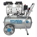 Afbeelding vanHyundai Geluidsarme Olievrije Compressor 8 BAR 24 Liter
