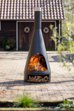 Afbeelding vanRedFire Terrashaard Fireplace Kingston Medium met Houtopslag