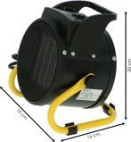 Afbeelding vanBetaalbaarshoppen Bellson elektrische heater 2000W
