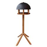 Afbeelding vanEsschert Design Voedertafel rond met stalen dak FB429