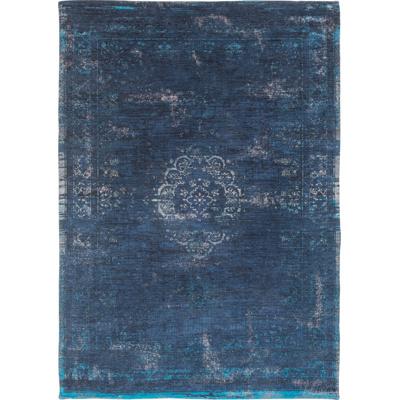 Afbeelding van Louis de Poortere Fading World Medallion vloerkleed (Afmetingen: 200x140 cm, Basiskleur: donkerblauw)