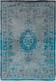 Afbeelding vanLouis de Poortere Fading World Medallion vloerkleed (Afmetingen: 200x140 cm, Basiskleur: grijs/turquoise)