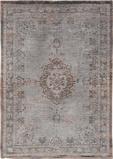 Afbeelding vanLouis de Poortere Fading World Medallion vloerkleed (Afmetingen: 200x140 cm, Basiskleur: grijs/bruin)