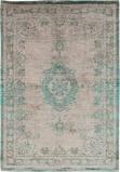 Afbeelding vanLouis de Poortere Fading World Medallion vloerkleed (Afmetingen: 240x170 cm, Basiskleur: beige/groen)