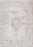 Afbeelding vanLouis de Poortere Fading World Medallion vloerkleed (Afmetingen: 200x140 cm, Basiskleur: wit)