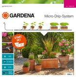 Afbeelding vanGardena Micro Drip Start Set M Voor Bloempotten Met Besproeiingscomputer