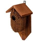 Afbeelding vanBest For Birds Nestbuidel Kokos Vogelbroedbenodigheden Bruin Groen