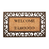 Afbeelding vanEsschert Design Deurmat Welcome/Goodbye rubber RB12