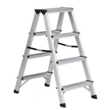 Afbeelding vanBenson Dubbelzijdige aluminium trap 2x4 treden. max 150kg