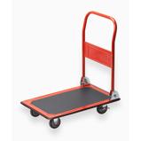 Afbeelding vanMeister Transportwagen Inklapbaar 150Kg Oranje Plateauwagen