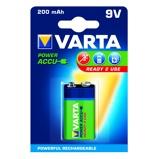 Afbeelding vanVarta Oplaadbare Blokbatterij 9 Volt 200 mAh