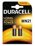 Afbeelding vanDuracell mn21 3lr50 alkaline staaf 12 volt bp2 blister 2 stuks