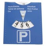 Afbeelding vanCarpoint parkeerschijf 19 x 14 cm blauw