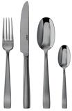 Image ofSambonet 24 Piece Cutlery Set Flat Black