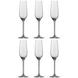 Afbeelding vanSchott Zwiesel Champagneglazen Fortissimo 240ml nr.7 6 Stuks