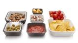 Afbeelding vanTomorrow's Kitchen Serve & Stack Schalen 6 st. Bruin/Wit