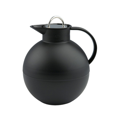 Image of Alfi Kugle Thermos? With Steel Lid Frozen Black (0115 958 094)