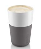 Afbeelding vanEva Solo Cafe Latte Mok Grijs 36 cl 2 Stuks