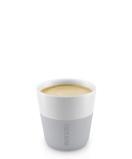 Afbeelding vanEva Solo Espresso Kopjes Marble Grey 8 cl 2 Stuks
