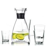 Afbeelding vanEva Solo Karaf Drupvrij 1 Liter + 4 Glazen 25 cl