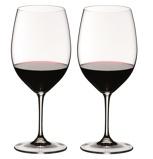 Afbeelding vanRiedel Wijnglazen Vinum Bordeaux 0,61 L 2 st. Transparant