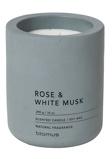 Afbeelding vanBlomus Fraga geurkaars ø 9cm rose & white musk
