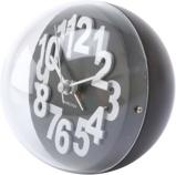 Afbeelding vanKarlsson alarmklok Numbers In Relief zwart