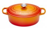 Afbeelding vanLe Creuset Signature Ovale Braad/Stoofpan 31 cm Oranje