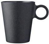 Afbeelding vanMepal Bloom Mok Melamine 0,3 L Zwart
