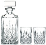 Afbeelding vanNachtmann Noblesse Whiskeyset 3 delig Transparant