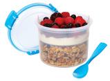 Abbildung vonSistema To Go Frühstücksschale 530ml (Farbe: blau/Transparent)